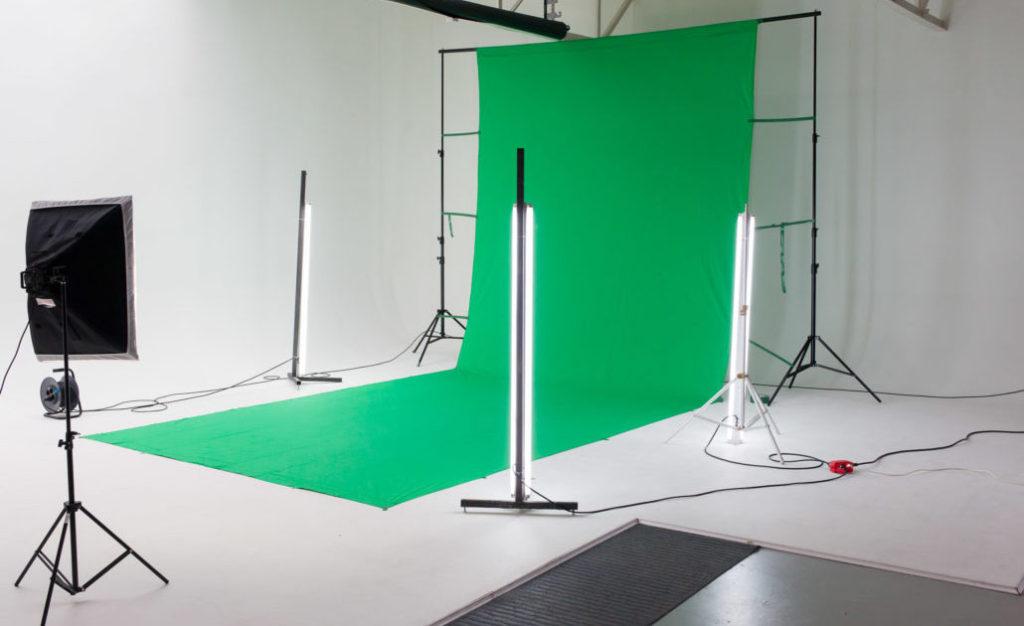 Chromakey filmstudio Den Haag
